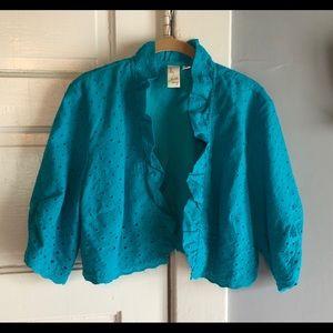 Lavender & Honey Short-Waisted Jacket. Size XL.